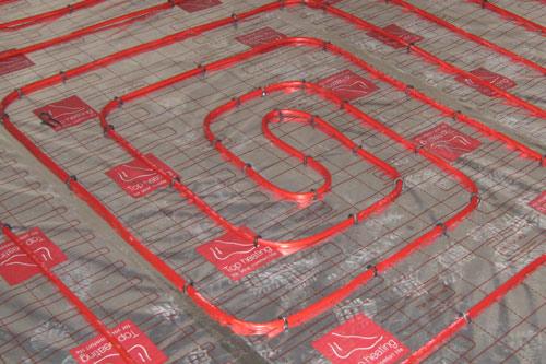 energy efficient underfloor heating