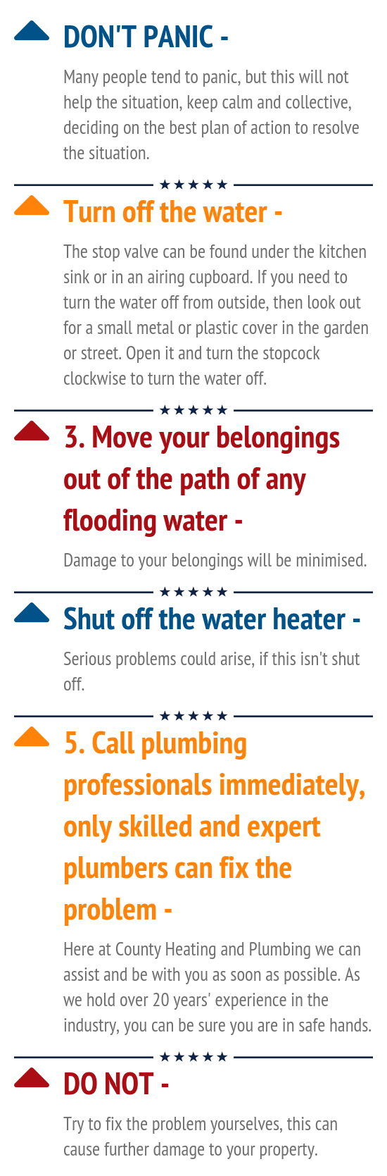 County Heating and Plumbing Ltd - Infographic
